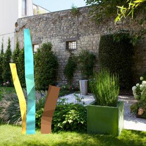 designer-sculpture-metal-jardin